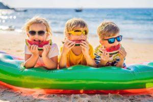 Kinder im Urlaub